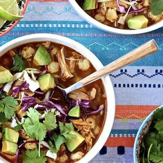 This Chicken Posole Recipe Only Tastes Like It Takes Hours to Make: The following post was written by Liesl Maggiore, who blogs at Lieslicious and is part of POPSUGAR Select Food.