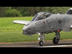 SUPER RC SCALE TURBINE MODEL JET  WARTHOG A-10 THUNDERBOLT II WITH AFTER...