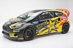 2014 Ford Fiesta ST Rockstar Energy Drink Race Car