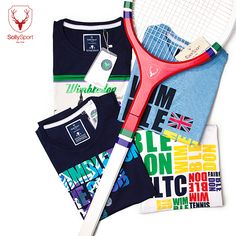 Take a swing at style this #Wimbledon season with our cool collection of graphic tees!