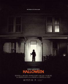 John Carpenter's Halloween Soirée Halloween, Halloween Poster, Halloween Movies, Halloween Artwork, Halloween Design, Best Horror Movies, Scary Movies, Michael Myers, Nuit D'halloween