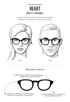 When looking for glasses that fit you perfectly, it helps to know...