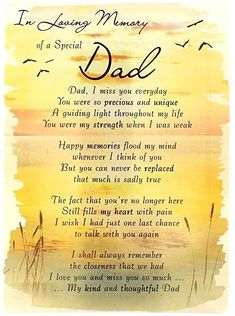 In Loving Memory - Missing You On Your Birthday Dad - Grave/Graveside Memorial Card Dad In Heaven Quotes, Birthday In Heaven Quotes, Miss You Dad Quotes, Happy Birthday In Heaven, I Miss You Dad, I Love My Dad, Father In Heaven, Fathers Day Poems, Father Quotes