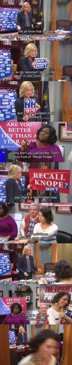 Can You Get Through This Parks & Rec Post Without Laughing Once? - Batman Funny - Ideas of Batman Funny - Let's All Take A Moment And Laugh At These Funny Parks & Rec Photos Parks And Rec Memes, Parks And Recreation, Image Hilarante, Parcs And Rec, Hilarious, Funny Memes, Jokes, Fandoms, Best Tv
