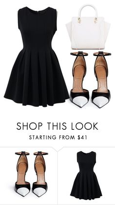 """""""Untitled #155"""" by jovana1999 ❤ liked on Polyvore featuring Givenchy and Chicnova Fashion"""