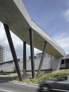 Puente peatonal La Sallaz, Lausana, Suiza - 2b Architectes - foto: Roger Frei