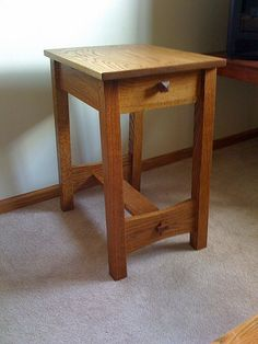 Lost Stickley Side Table