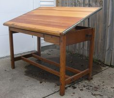 1940's Drafting Table