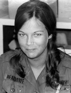 First Lt. Virginia L. Ginny Deardorff Dornheggen, seen here at a hospital in Quy Nhon, South Vietnam.