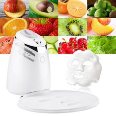 Electrical Automatic Fruit Mask Machine - White