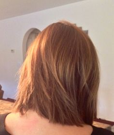 Finally a good picture of the back of my medium bob hairstyle