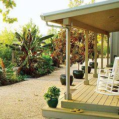 jardín-con-grava-deck