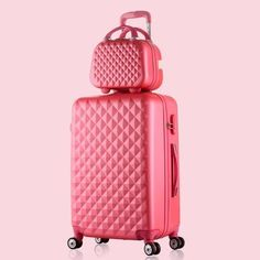 Vintage Suitcase Cosmetic Case Pink White Metal Baby Steampunk Luggage Ebay Cosmetic Case