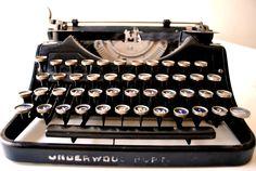 Underwood #typewriter