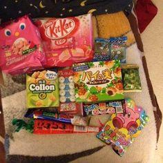 #OkashiConnection ~ June 2014 Japanese Candy subscription box.