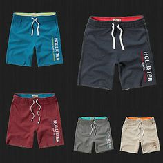 Find many great new & used options and get the best deals for NWT Hollister HCO Athletic Shorts Fleece Gym Sweat Jogger Short By Abercrombie at the best online prices at eBay! Free shipping for many products!