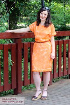etiblog Jak uszyć sukienkę na lato Rubrics, Kimono, Cold Shoulder Dress, Two Piece Skirt Set, Shirt Dress, Couture, Skirts, Dresses, Fashion