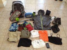Packing for El Camino de Santiago