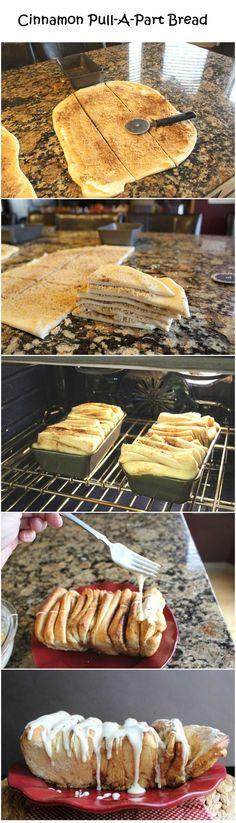 Cinnamon Pull-A-Part Bread