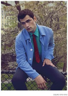 Sean O'Pry is 'The Leading Man' for Esquire Hong Kong Fashion Editorial