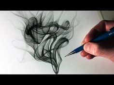 How to Draw Smoke by LethalChris Drawing / Drawing Technique