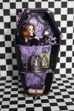 Dollhouse Miniature Gothic Fantasy Display by NightfallMiniatures, £30.00