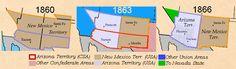 (1860-66) New Mexico Territory