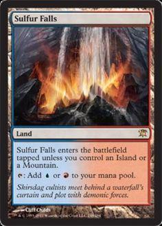 Sulfur-Falls-x1-Magic-the-Gathering-1x-Innistrad-mtg-card-rare-land