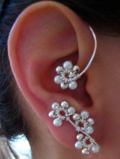 games, jewelry making inspiration, ear wraps, hunger game, ears, bridal ear, ear cuff, inspir bridal, game inspir