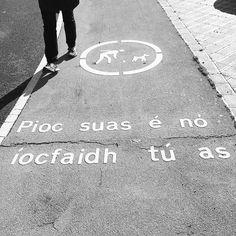 Pioc suas é no íocfaidh tú as Irish Language, Up, Instagram Posts