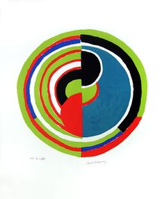 Sonia Delaunay- painting 1970