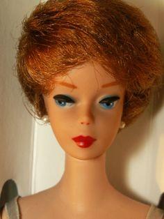 Vintage 1961 Bubble Cut Barbie Doll After Restoration By MiKelman