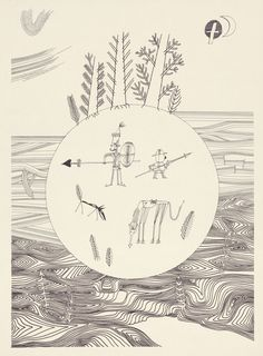 """Illustrations from international editions of """"Don Quixote"""" published in the quixotic sixties. Pictured: Atuyoshi Sugimura, 1966."""