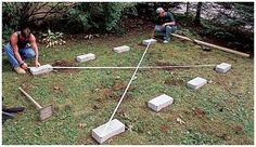 Your shed foundation is an important part of building a shed that will last and work for you, if you do it right.