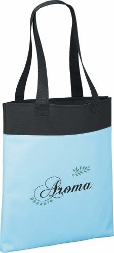 Promote your business with this deluxe tote bag!