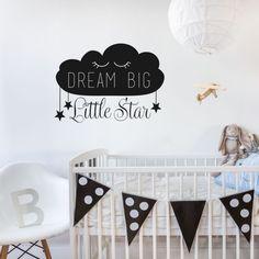 Muursticker 'Dream big, little Star'