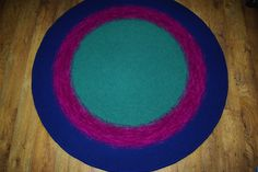 Round rug, 69'' (176 cm)/Rugs/Rug/Area Rugs/Floor Rugs/Large Rugs/Handmade Rug/Carpet/Wool Rug by AnuszkaDesign on Etsy