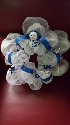 Winter snowman wreath @ja.decorandmore