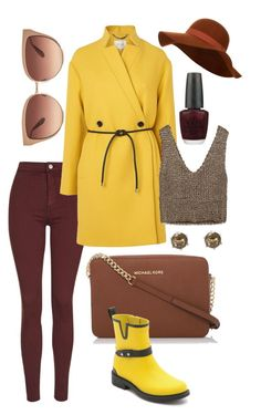 """""""FALL inspired"""" by zistyle on Polyvore featuring Topshop, L.K.Bennett, Zara, House of Fraser, rag & bone, Accessorize, Barton Perreira, OPI and Snö Of Sweden"""