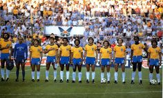 SELECCION DE BRASIL 1982 Sócrates, Zico, Eder, Cerezo, Junior....