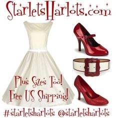 Pin up clothing cheap! STARLETSHARLOTS.COM #pinupgirl #pinup #rockabilly #vintagedress #swingdance #1950s #retro #fashion #style #dance #fifties #model #vintageclothing