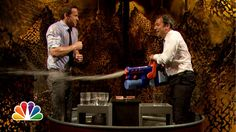 Water War: Ryan Reynolds vs. Jimmy Fallon i serious love jimmy fallon! I died at this!