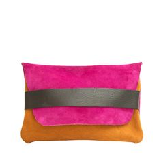 Fuchsia - clutch  love the vibrant colors