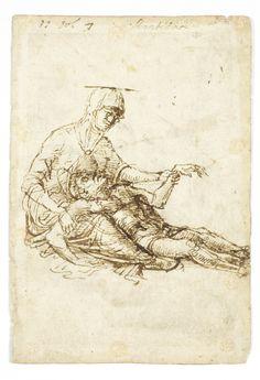 Andrea Mantegna Pieta, 15th century