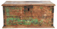 Antique Hand-Painted Trunk $399.00