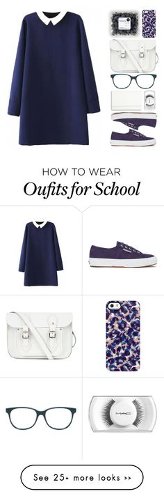 """Back to School - Fall#4"" by mejola on Polyvore featuring Superga, The Cambridge Satchel Company, Moleskine, Prism and Uncommon"