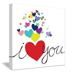 Cute I Love You art by Avalisa