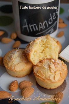 Cette recette est pour les fans d'amande comme moi...très simple, très rapide et délicieuse, vous n'en ferez qu'une bouchée c'est certain. A refaire!!! Avec les empreintes Mini-muffins Flexipan (4,5 cl) Ingrédients pour 12: - 65g de beurre très mou -... Tea Cake Cookies, Biscuit Cookies, Cupcakes, Homemade Tea, Homemade Cakes, Cake Recipes, Snack Recipes, Snacks, Chocolate Tea Cake