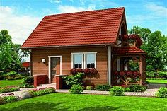 Pin on parasztház Village House Design, Village Houses, 1200 Sq Ft House, Perspective Pictures, Affordable House Plans, Mexican Home Decor, Copper Roof, Apartment Layout, Simple House