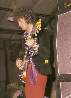 Eric Clapton with Cream, UK, 1967.